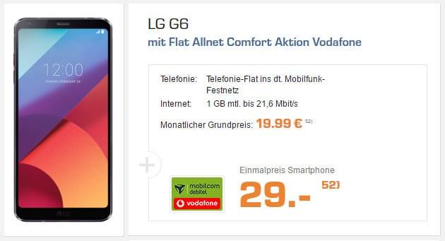 LG G6 + Vodafone Flat Allnet Comfort (md)