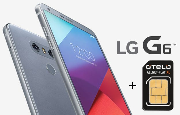 LG G6 + otelo Allnet-Flat XL