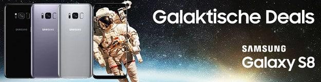 Samsung Galaxy S8 + otelo Eintracht Tarif