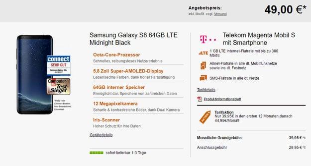 galaxy s8 magenta mobil s