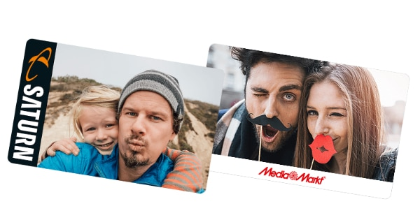 MediaMarkt Geschenkkarte & Saturn Gutschein Card - Teaser