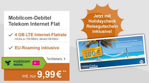 mobilcom-debitel Internet Flat 4000 Telekom