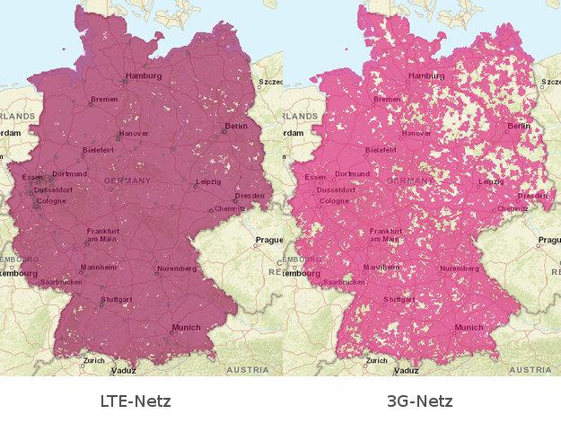 3G vs LTE Telekom