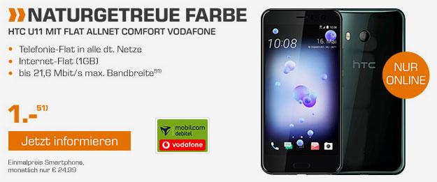 HTC U11 - Flat Allnet Comfort Vodafone