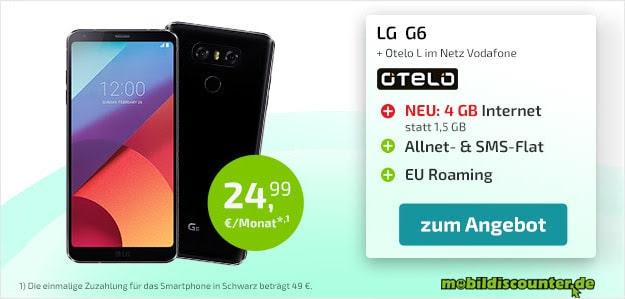 LG G6 + otelo Allnet-Flat L