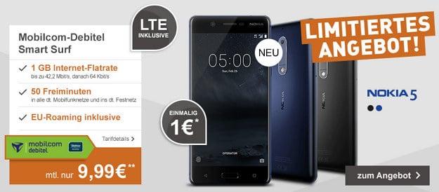 Nokia 5 + o2 Smart Surf (md)