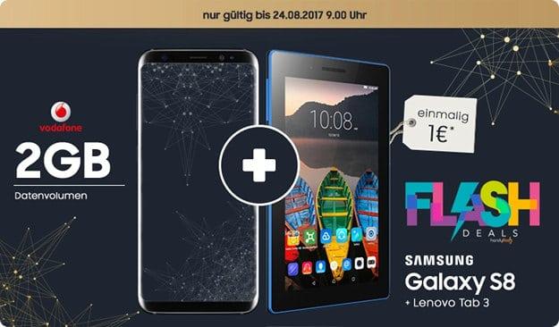 S8 + Vodafone Smart L