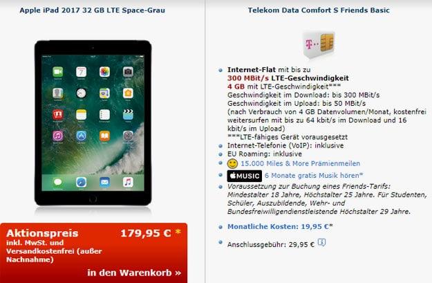 iPad 2017 Telekom Data Comfort S