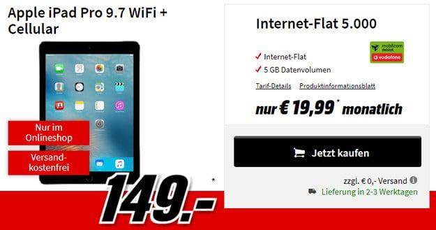 iPad Pro + Internet-Flat 5000 Vf