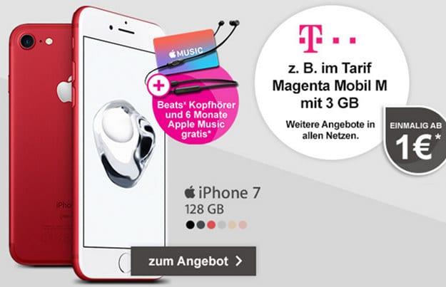iPhone 7 + Telekom Magenta Mobil M
