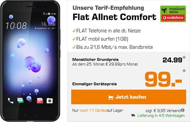 HTC U 11 + Vodafone Flat Allnet Comfort (md)