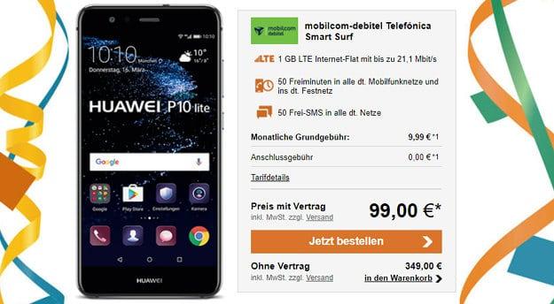 Huawei P10 Lite + o2 Smart Surf (md)
