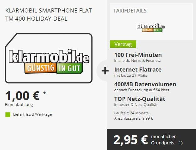 Klarmobil-Smartphone-Flat-400