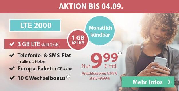 PremiumSIM 3 statt 2 GB