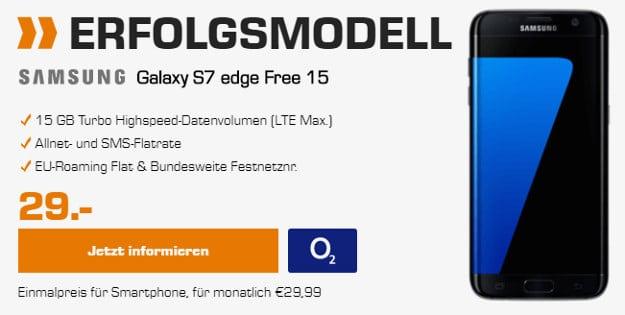 Samsung Galaxy S7 Edge + o2 Free 15