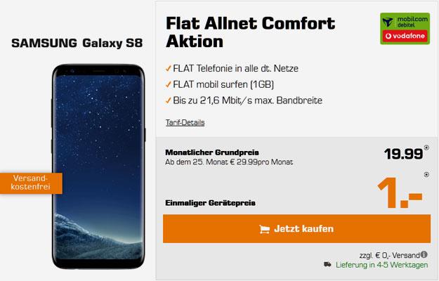 Samsung Galaxy S8 - Vodafone Flat Allnet Comfort md