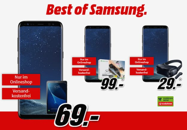 Samsung Galaxy S8 + Vodafone real Allnet Vodafone