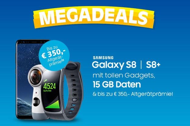 Samsung Galaxy S8 + o2 Free 15 Sparhandy