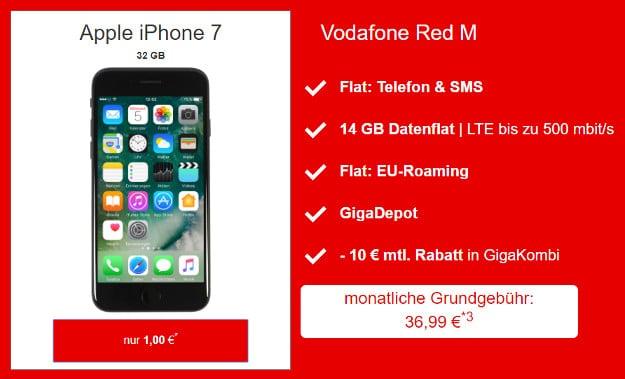 Apple Iphone 7 Vodafone Red M Fur Eff 10 57 Mtl