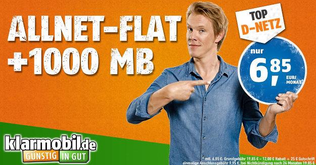 klarmobil Allnet-Flat 1000 Vf