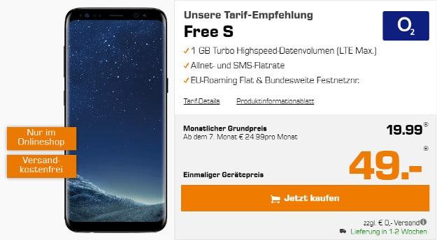 Samsung Galaxy S8 O2 Free S Ab Eff 728 Mtl Handyhasede