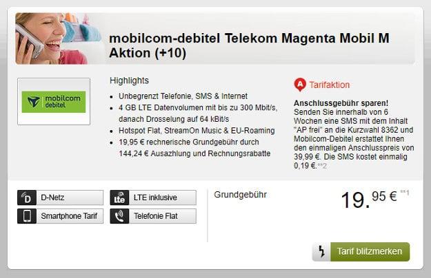 Telekom Magenta Mobil M (md) SIM-only