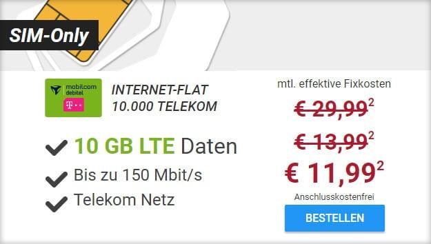 internet-flat 10000 telekom