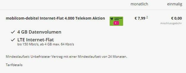 internet-flat 4000 md