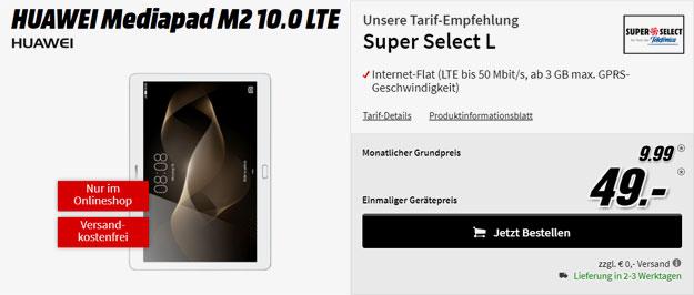 huawei mediapad m2 10.0 lte o2 super select l