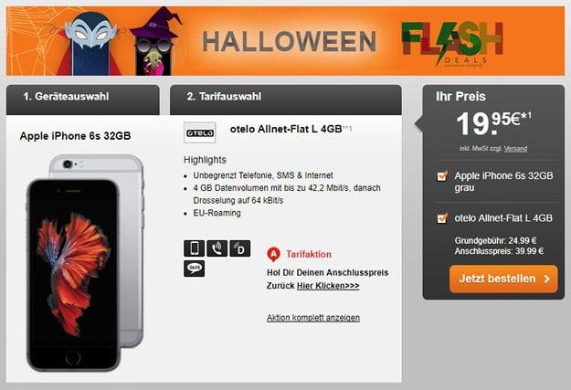 iPhone 6s + otelo Allnet-Flat L