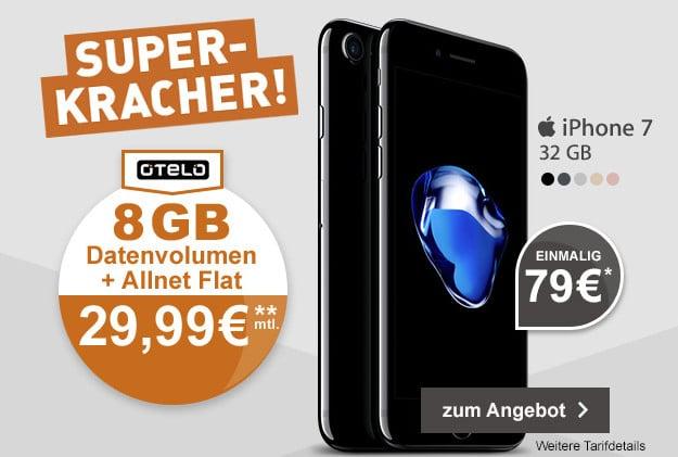 iPhone 7 + otelo XL Plus