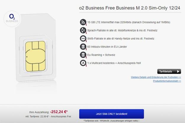 o2 free business m