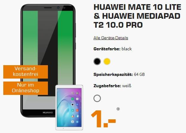 Huawei Mate 10 Lite + Telekom Flat Allnet Comfort (md)