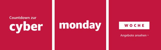 Amazon Cyber Monday Woche 2021
