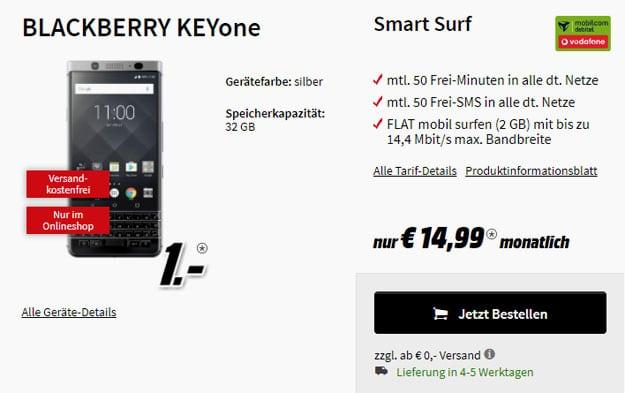 blackberry keyone smart surf