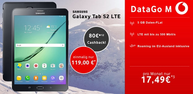 galaxy tab s2 data go m
