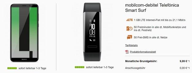 Huawei Mate 10 Lite mit Smart Surf