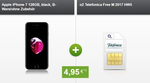 Apple iPhone 7 128GB mit o2 Free M