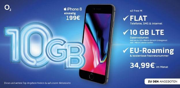 Apple Iphone 8 O2 Free M Für Effektiv 1024 Monaltich