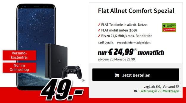 s8 + Flat Allnet comfort (md)