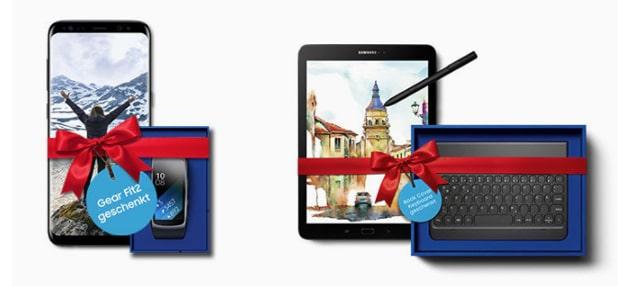Samsung Superdeals gratis Gear zum Smartphone und mehr