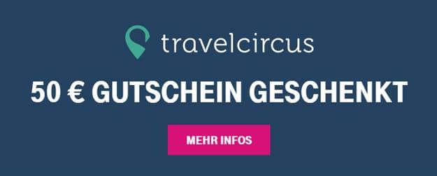 Telekom Mega-Deal Gutschein für Travelcircus