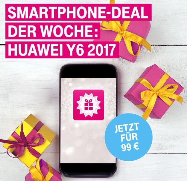 Huawei Y6 2017 günstig bei der Telekom kaufen