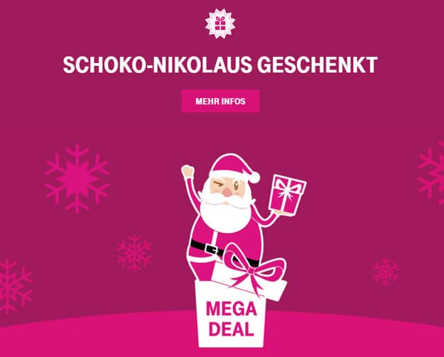 Telekom Mega-Deals gratis Nikolaus