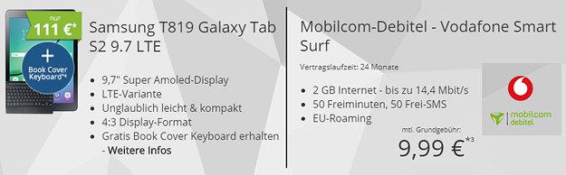 Galaxy Tab S2 + Vodafone Smart Surf (md)