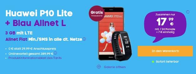 Huawei P10 Lite + Blau Allnet L