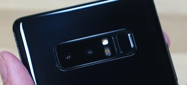 Samsung Galaxy Note 8 Test