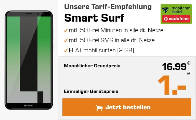 huawei mate 10 lite + vf smart surf md