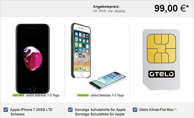 iPhone 7 + otelo Allnet-Flat Max