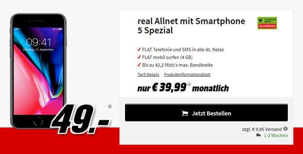 iPhone 8 real allnet